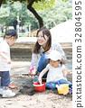 公园 小孩 幼儿 32804595