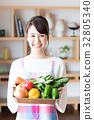 蔬菜 食品 原料 32805340