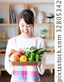 家庭主婦(蔬菜) 32805342