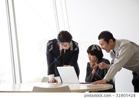 會議企業形象 32805428
