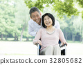 senior, person, loving couple 32805682