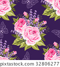 Seamless floral pattern 32806277