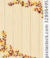 秋葉植物框架材料 32806495
