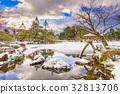 Japanese Garden in Winter 32813706