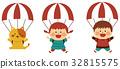 parachute, parachutes, child 32815575