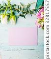 card tulip flower 32817557