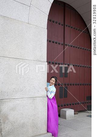 한복,광화문,경복궁,종로구,서울 32819988