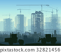 crane, construction, vector 32821456