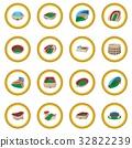 Stadium cartoon icon circle 32822239