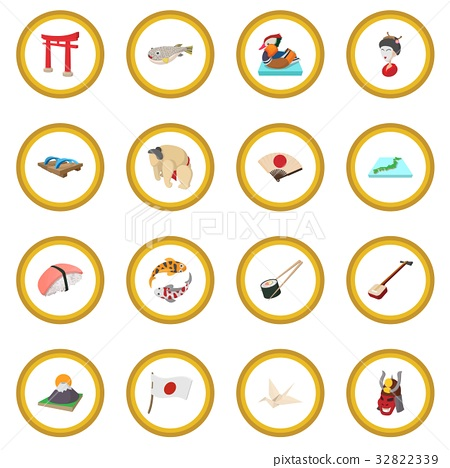 Japan icon circle 32822339