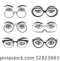 眼睛 目光 眼鏡 32823663