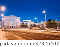 Gomel, Belarus. Railway Station Building At 32826407