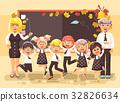 back, cartoon, illustration 32826634