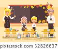 back, cartoon, illustration 32826637
