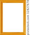 wooden frame, frame, wooden 32827678