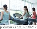 fitness, gym, female 32830212