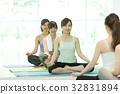 健身館 一個年輕成年女性 女生 32831894