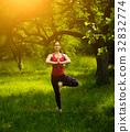 女性 女 瑜伽 32832774