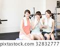 健身館 一個年輕成年女性 女生 32832777