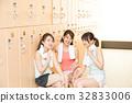 健身館 一個年輕成年女性 女生 32833006