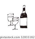 vino, wein, water 32833162