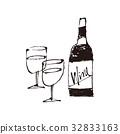 vino, wein, water 32833163