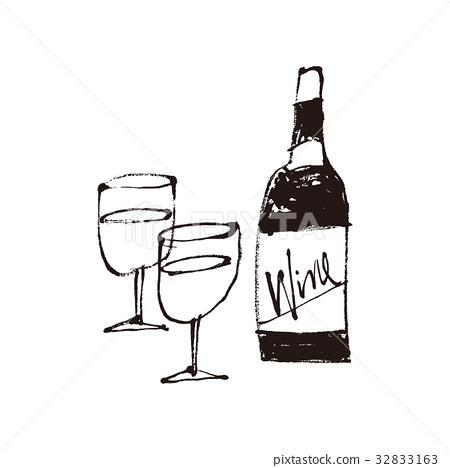 葡萄酒 红酒 酒 32833163