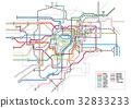 東京 地下鐵路 地鐵 32833233