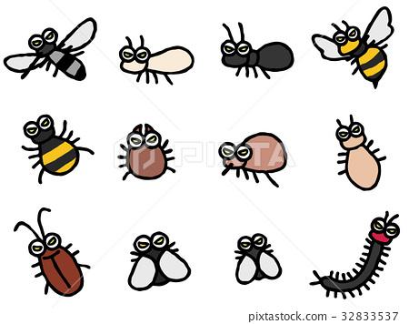 害虫 威胁 一套 32833537