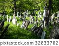 Old Jewish Cemetery, stone tombstones 32833782