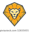 Lion head logo vector 32835655