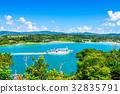 ferryboat, boat, boating 32835791