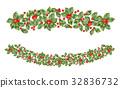 冬青 邊界 聖誕節 32836732