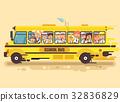 back, cartoon, illustration 32836829