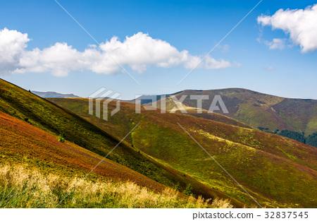 Carpathian Mountain Range in late summer 32837545