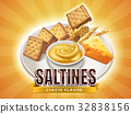 Cheese flavor saltines 32838156