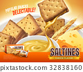Cheese filling saltines ad 32838160