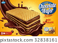 Chocolate wafer ads 32838161