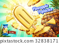 Pineapple popsicles ads 32838171