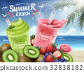 Fruit smoothies ads 32838182