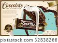 Chocolate ice cream bar ads 32838266