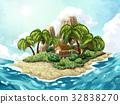 Summer Island background 32838270