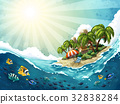 Summer Island Trip background 32838284