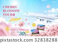 广告 樱花 旅行 32838288