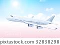 Blank aircraft model 32838298