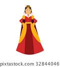 queen crown red 32844046
