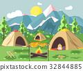 illustration, land, landscape 32844885