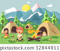 Vector illustration cartoon characters children 32844911