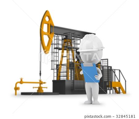 3d small people - engineer petroleum 32845181