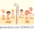 Vector illustration back to sport school children 32846313
